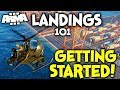 ArmA 3 Helicopter Landings Guide 101 ►My Keybinds + Peripherals - GETTING STARTED!