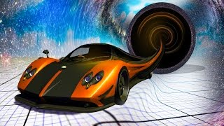 CAR vs. BLACK HOLE! (BeamNG.drive)