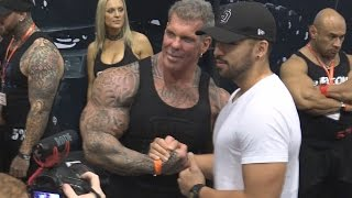 Rich Piana at the LA Fit Expo 2017
