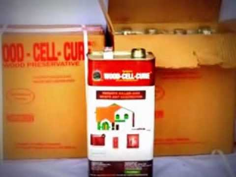WOOD-CELL-CURE WOOD PRESERVATIVES (Protect Wood from Termite & Fire)