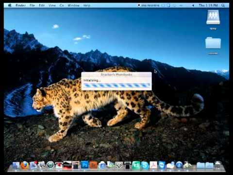 Install Strachan's Photobook software on a Mac OSX