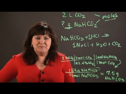 How to Calculate the Mass of NaHCO3 Required to Produce CO2 : Chemistry and Physics Calculations