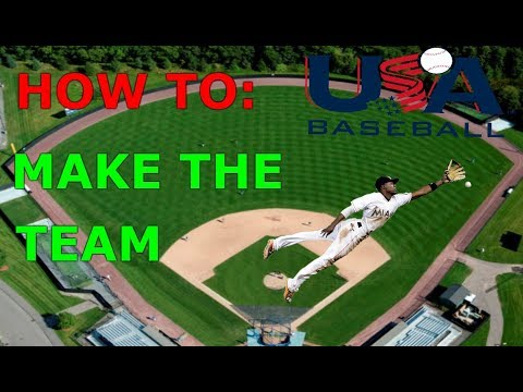HOW TO MAKE THE BASEBALL TEAM/TIPS FOR MAKING THE TEAM/WOODY-YT