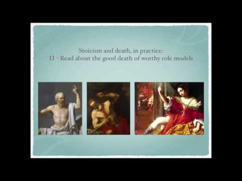 """Dying with Dignity: Lessons from Stoicism & Co."