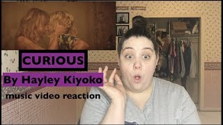 Curious by Hayley Kiyoko- music video reaction