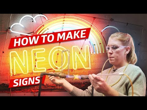How Neon Signs Are Made for Restaurants — How to Make It