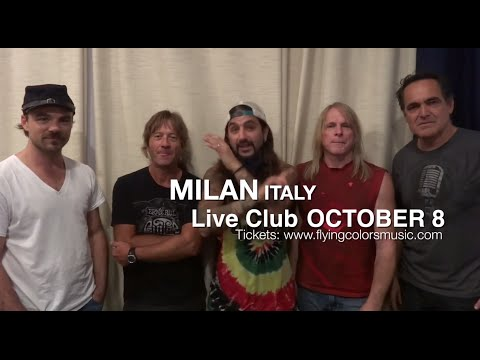 Flying Colors Tour 2014: Italy - Oct 8!