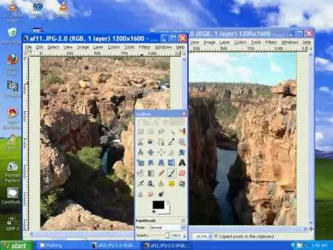How To Combine Photos Using Gimp
