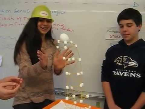 8th grade Earthquake Simulation 2: Designing shakeable structures