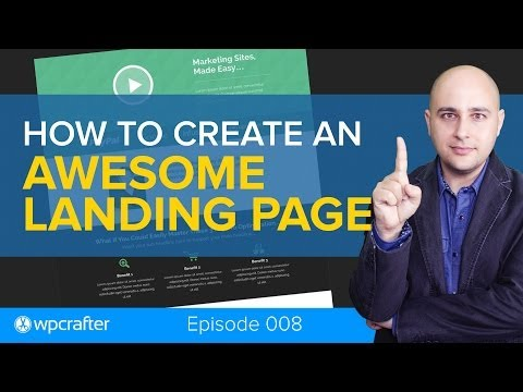 How To Create An Awesome Landing Page For Your WordPress Website