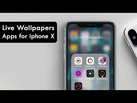 Best Live Wallpapers Apps for iPhone X