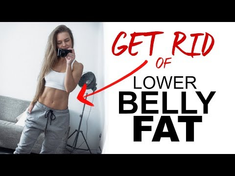 SIMPLE ways to GET RID of YOUR lower BELLY FAT | TRAINING TIP TUESDAY #3