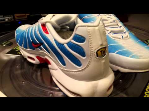 NIKE Air Max Plus - Tuned Air - The Wave - Europe / Australia release only - 11-16-14