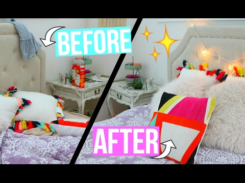 How to clean your room FAST! Cleaning tips + Organizations hacks!