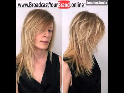 Long Haircut With Side Bangs