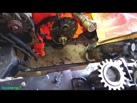 Install and remove Crank Timing gear, SBC