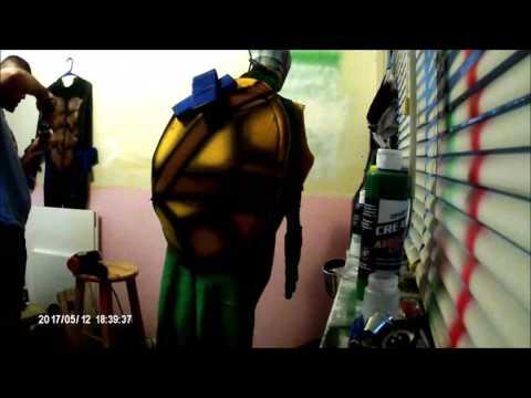 Creating The Coolest Ninja Turtle Mascot Costume