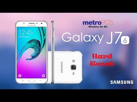 MetroPCS Samsung Galaxy J7 Hard Reset