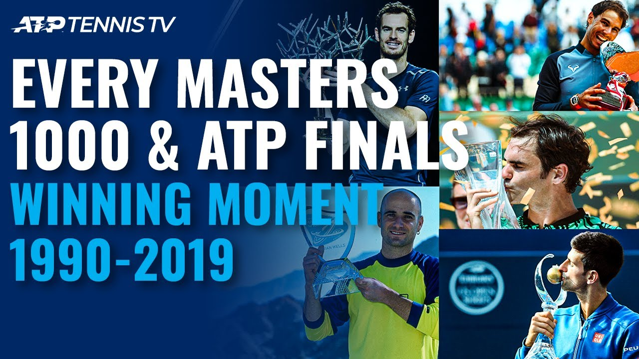 30 Years of Tennis History: Every Masters 1000 & ATP Finals Championship Point (1990-2019)