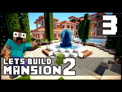 Minecraft: How To Make a Mansion - Part 3