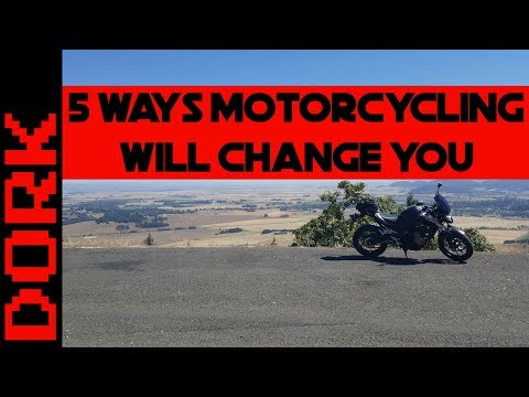 Five Ways Motorcycling Will Change You
