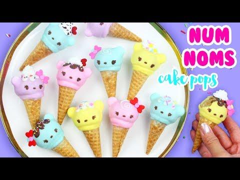 How to Make Num Noms Cake Pops!