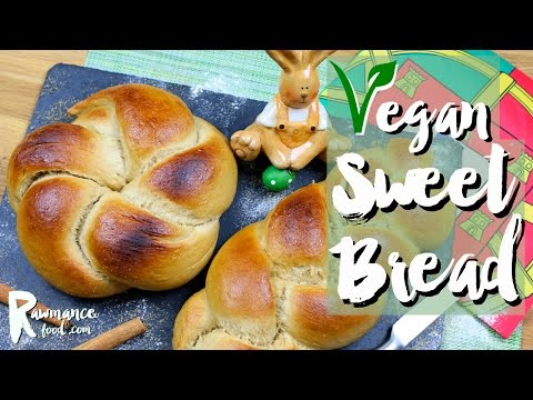 How to Make Sweet Bread Dough at Home with VEGAN Yeast and Without Eggs (VEGAN RECIPE)
