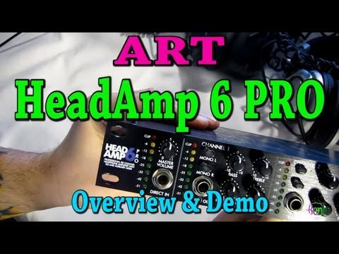 ART HeadAmp 6 PRO - Overview and Demo (Headphone Amp)