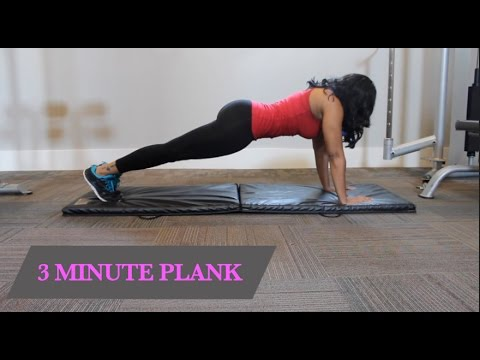 3 MINUTE PLANK WORKOUT FOR THE ABS PART 2