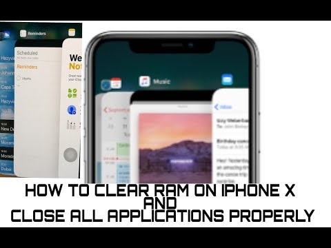 how to clear iphone ram force Quit Apps on iPhone X - Close Apps Completely