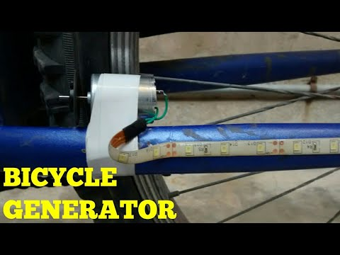 HOW TO MAKE A BICYCLE GENERATOR