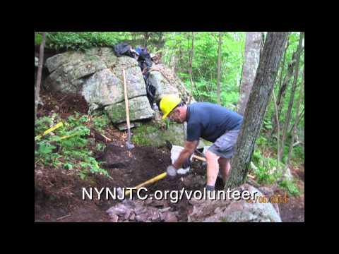 Long Path Trail more stone steps