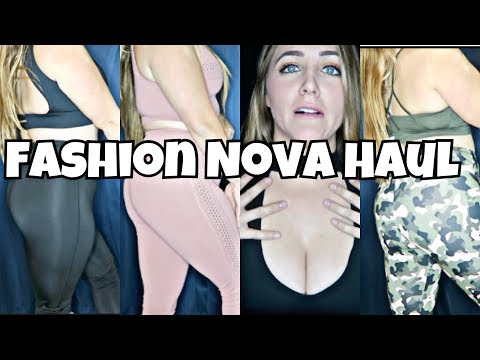 Affordable Fashion Nova Activewear Haul on a Curvy Girl! | SO SURPRISED!