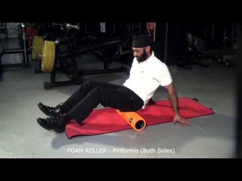 FOAM ROLLER - Piriformis (Both Sides)