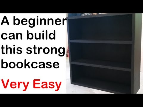 Build a bookcase - Strong and Easy (how to)