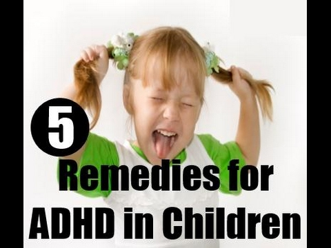 ADHD in Children and the cure with the help of home remedies