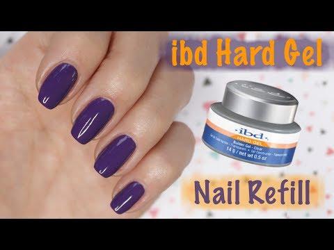 IBD Hard Gel - How To Do Refill - Part 2 of 2