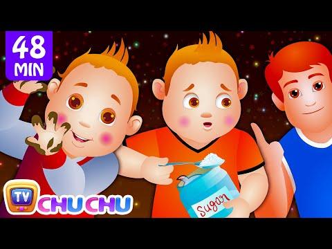 ChuChu TV Nursery Rhymes - US Version Vol.2   Johny Johny Yes Papa Part 1, Part 2 & More Kids Songs