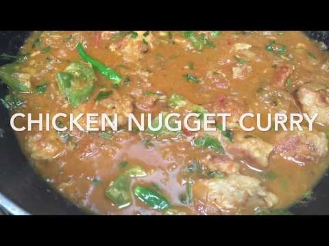 Chicken Nugget Curry/ chicken nugget recipe