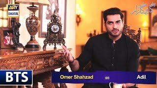 The talented #OmerShahzad talks about his experience of working with his co star #SaboorAly
