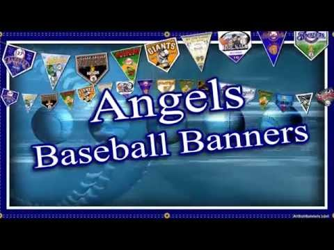 Team Banner ideas for Angels Youth Baseball