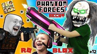 GIANT CLOWN + FGTEEV CLONES! ROBLOX PHANTOM FORCES #12 Re-Cut (Gameplay Skit)