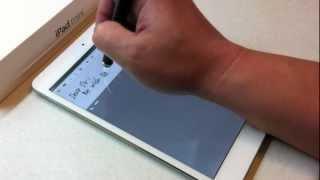 Caneta Touch para iPad mini 3 e iPad Air 2, Bamboo Stylus Fineline