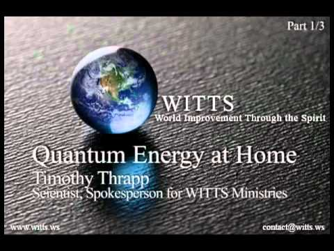 Quantum Energy   1 3   Audio Interview w  Timothy Thrapp   wits2014