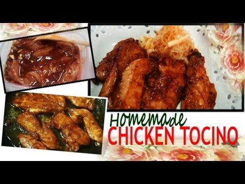Homemade Chicken Tocino ( Chicken Ham)