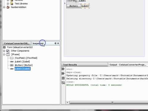 Making a Simple GUI App with NetBeans