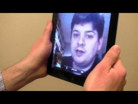 iPad 2 FaceTime Video Chat