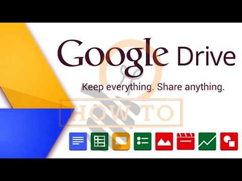 How to upload files on Google Drive and share through link