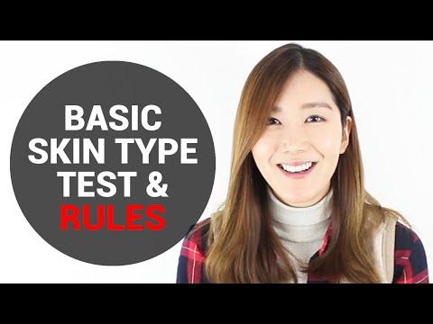 Basic Skin Type Test & Rules   Wishtrend