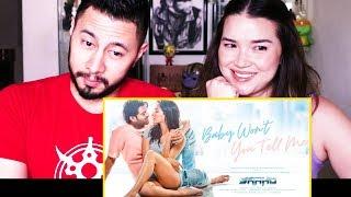 SAAHO: BABY WON'T YOU TELL ME   Prabhas   Shraddha Kapoor   Music Video Reaction!